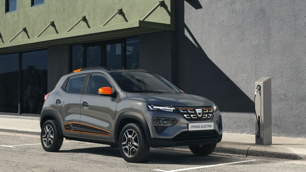 Dacia Spring wielkość