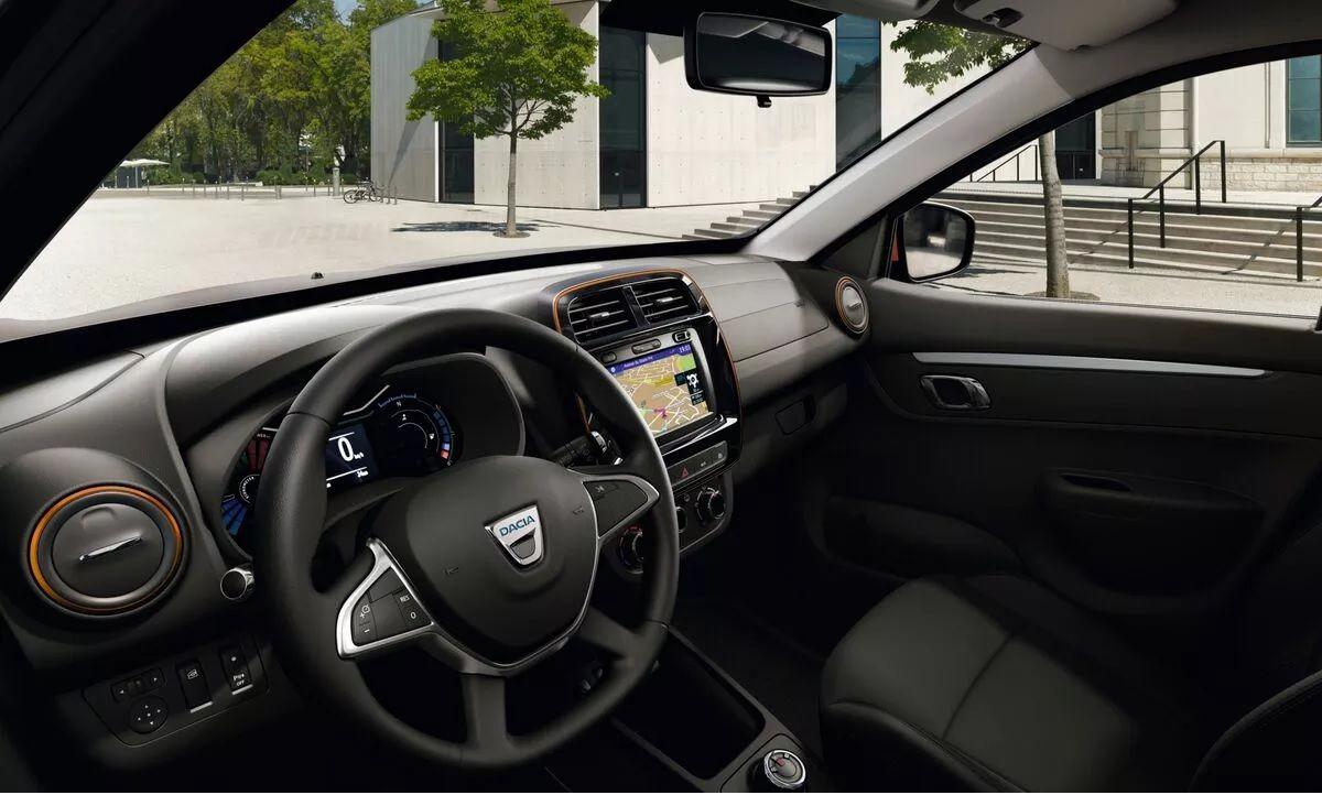 Dacia Spring wnętrze