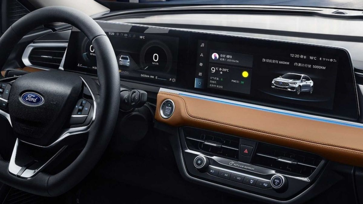 Ford Escort 2021 interior