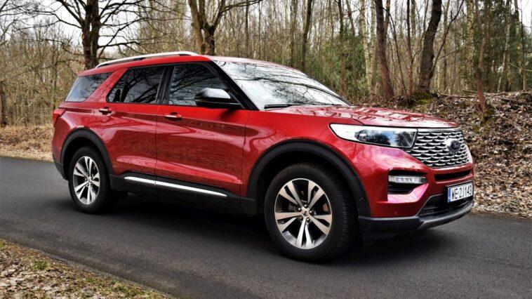 Ford Explorer test 2021