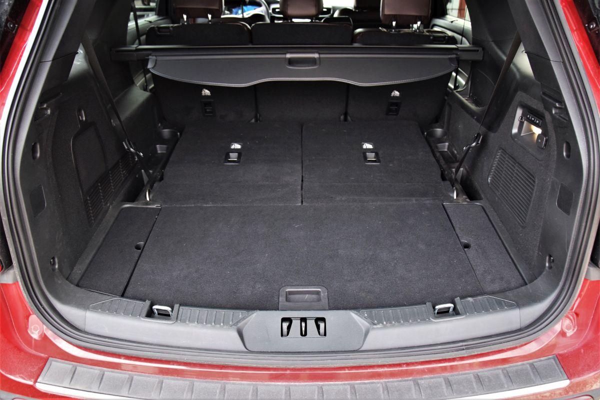 Ford Explorer bagażnik