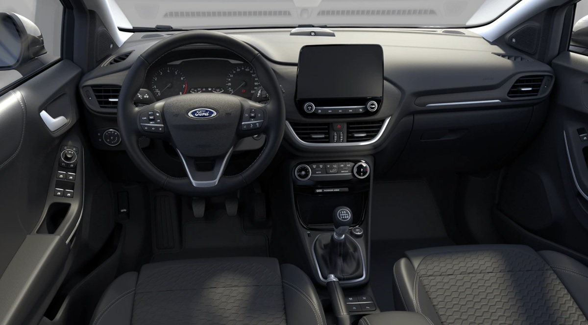 Ford Puma Titanium - wnętrze