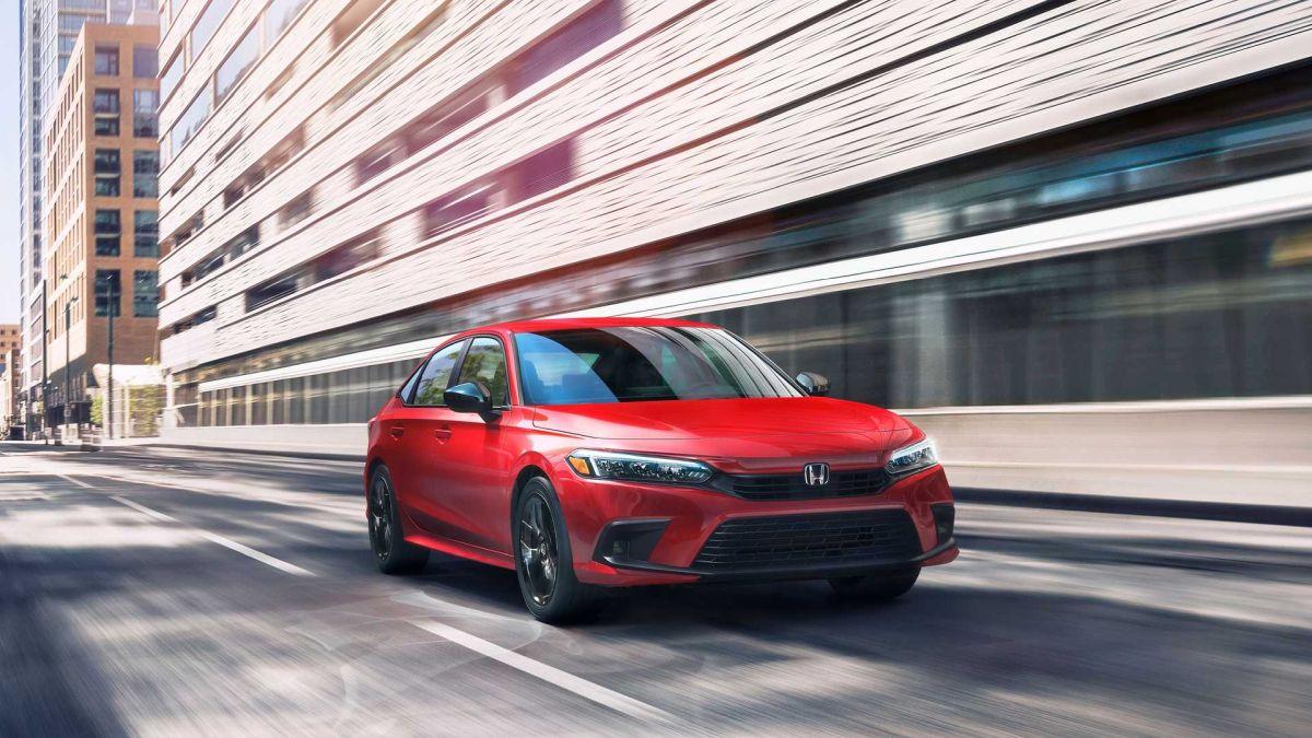 Honda Civic 2022 design