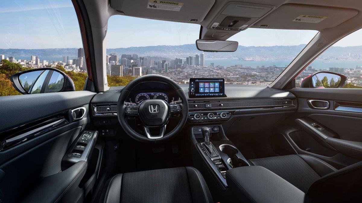 Honda Civic 2022 wnętrze