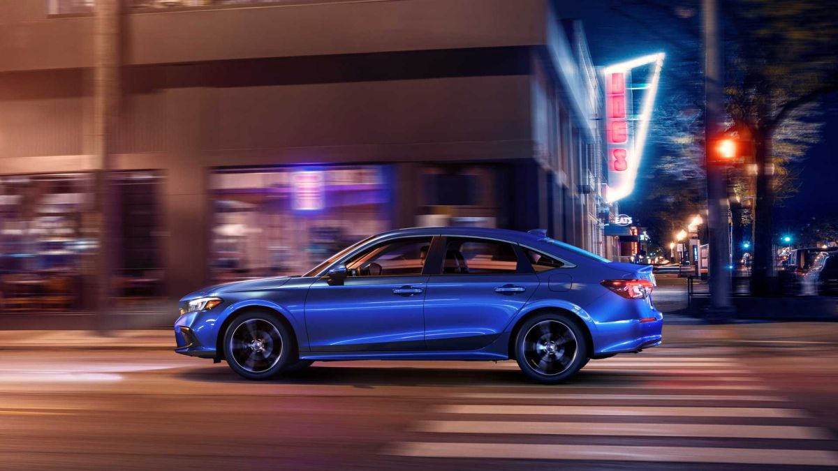 Honda Civic 2022 rozstaw osi