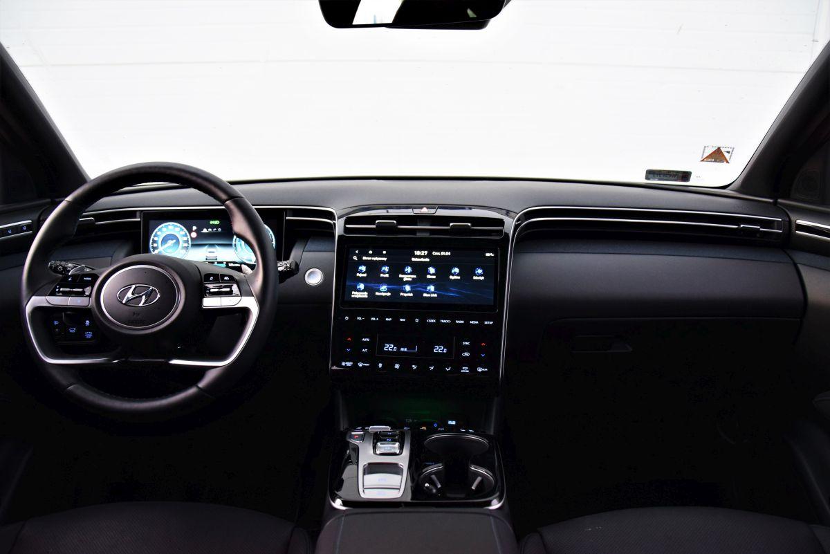 Hyundai Tucson HEV wnętrze