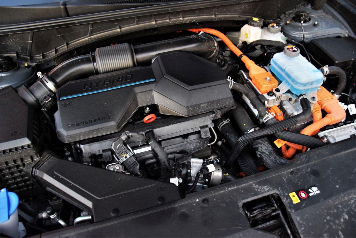 Hyundai Tuscon HEV dane techniczne