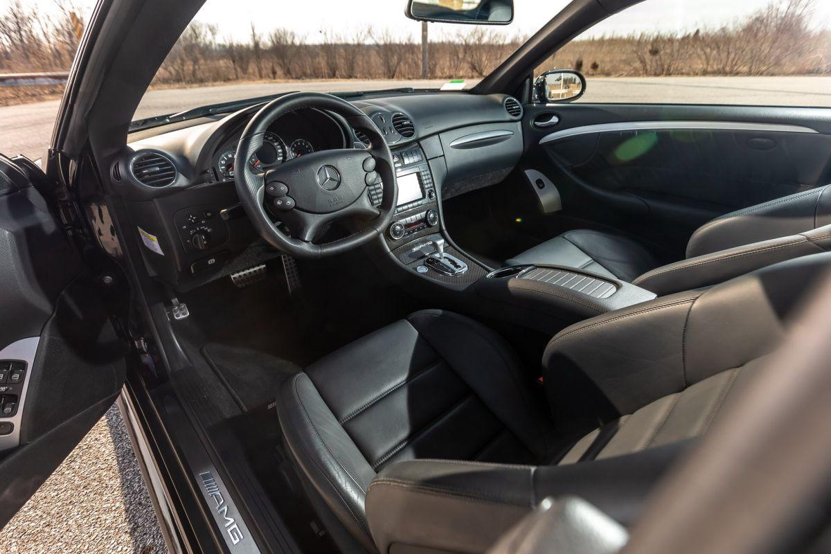 CLK 63 BS interior