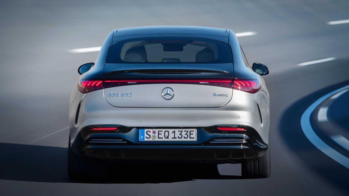 Mercedes EQS zasięg