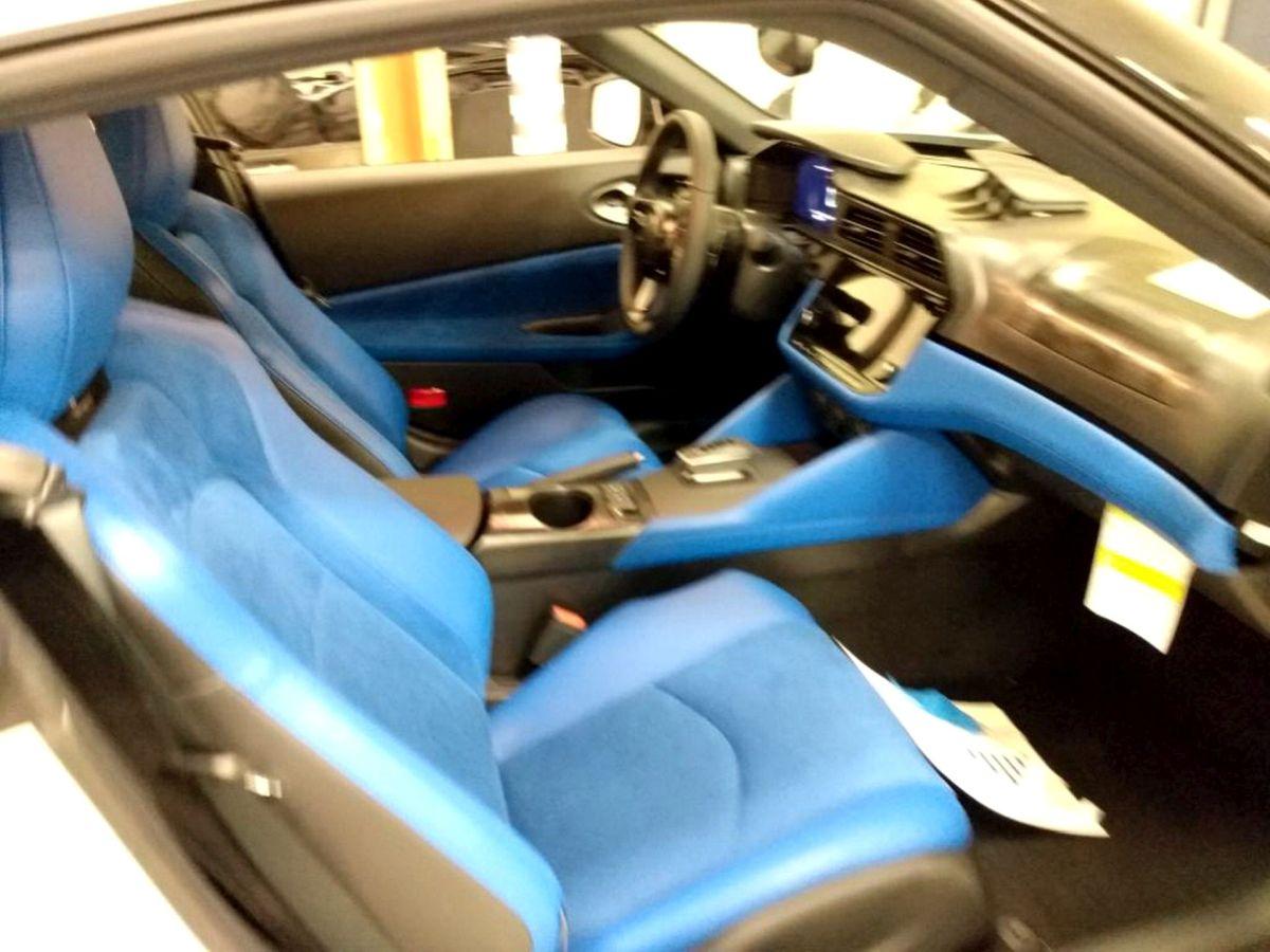 Wnętrze Nissana Z 2022
