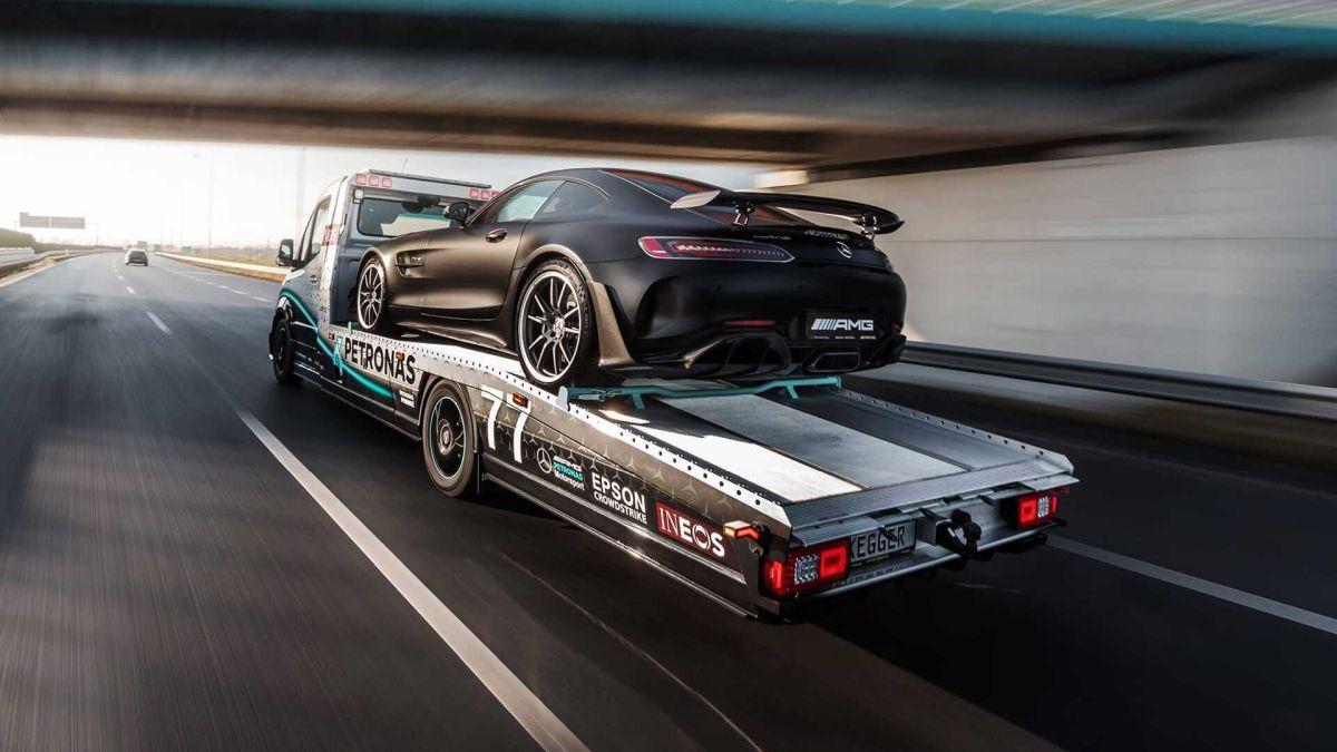Mercedes Sprinter Petronas Edition