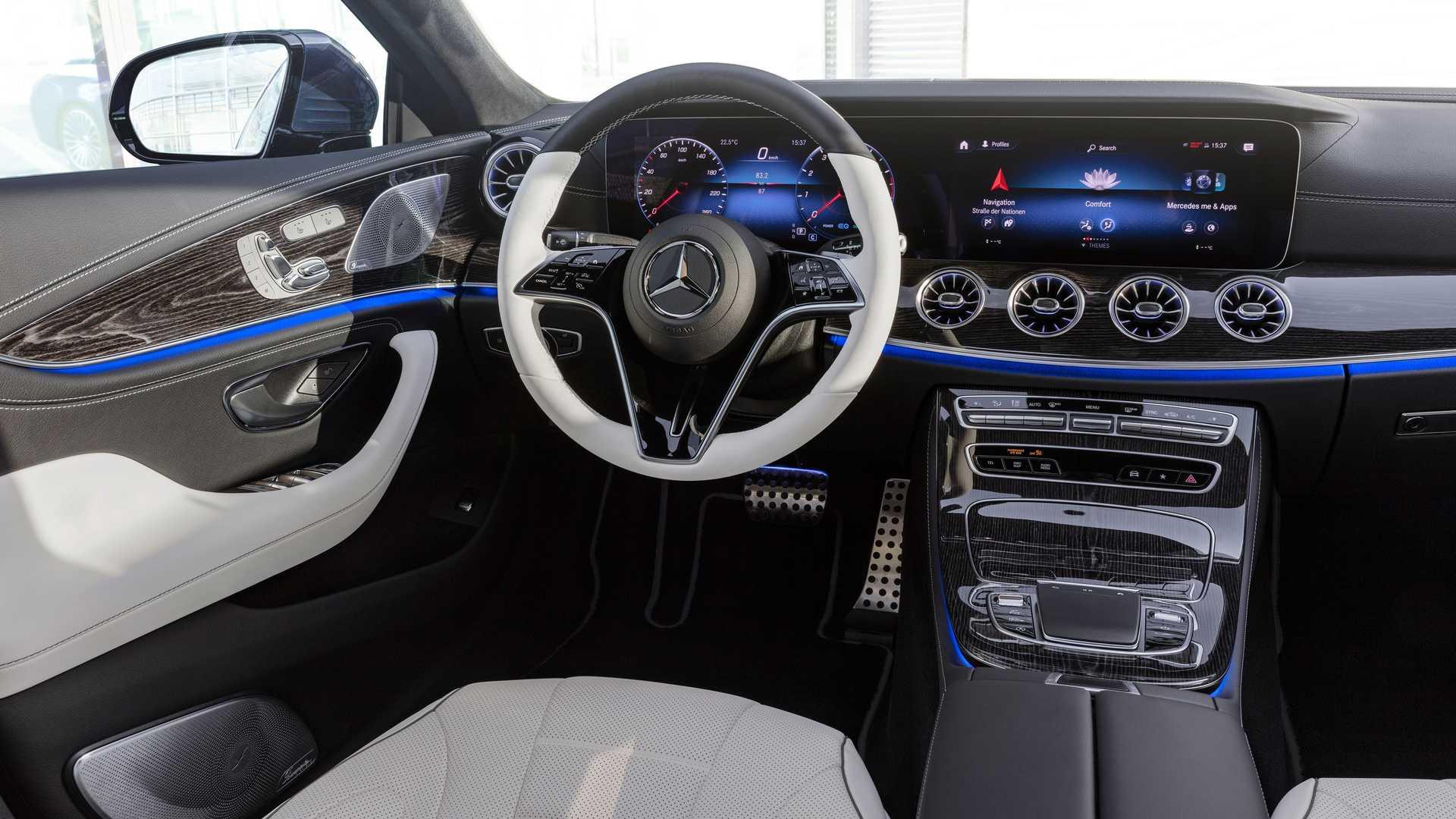 CLS 2021 interior