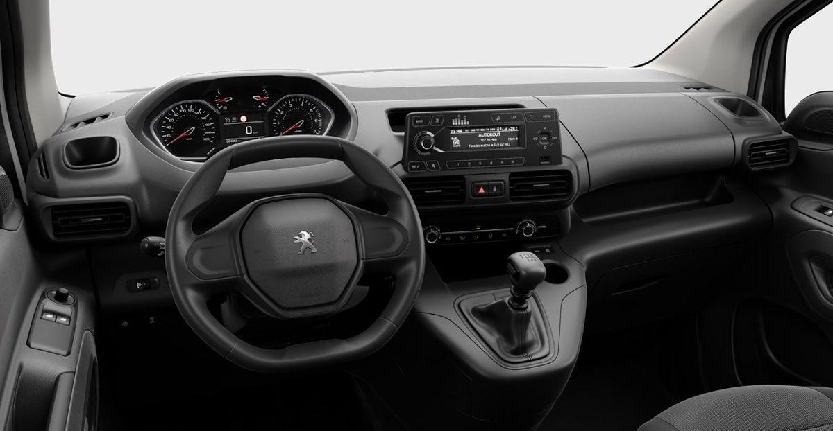 Peugeot Rifter Active Pack - wnętrze