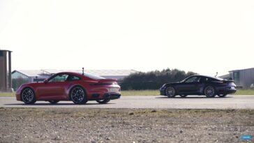 Porsche 911 Turbo S 992 vs 991