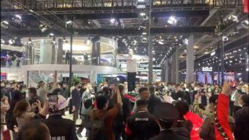 Shanghai Tesla protest