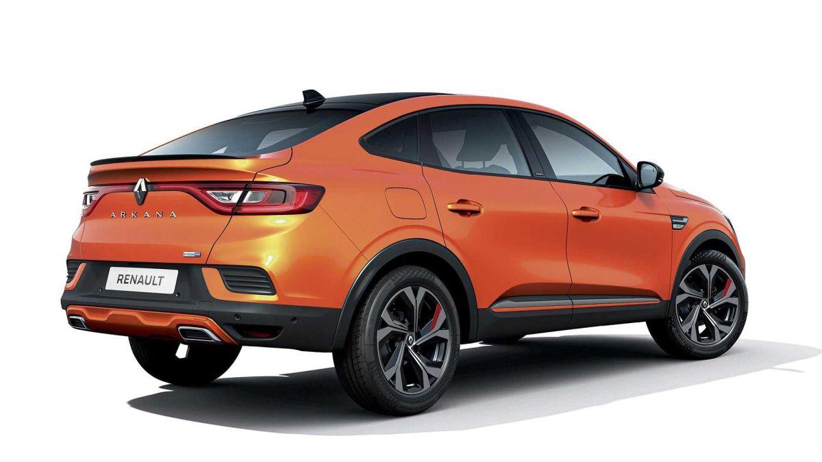 Renault Arkana design