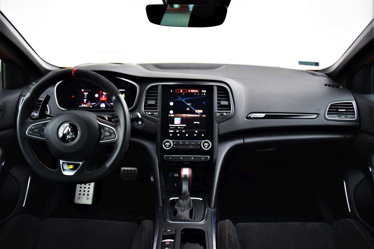 Renault Megane RS 2021 wnętrze