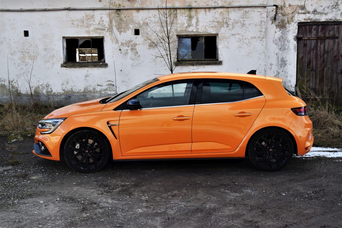 Renault Megane RS facelift 2021 opinie