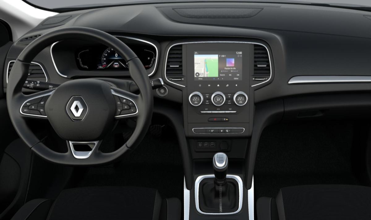 Renault Megane Intens - wnętrze
