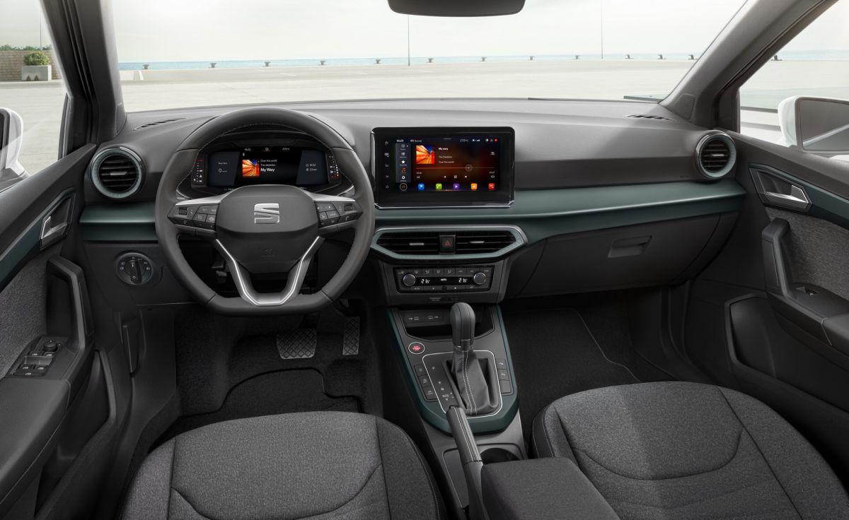 SEAT Arona facelift interior