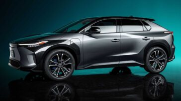Toyota bZX4 Concept 2021