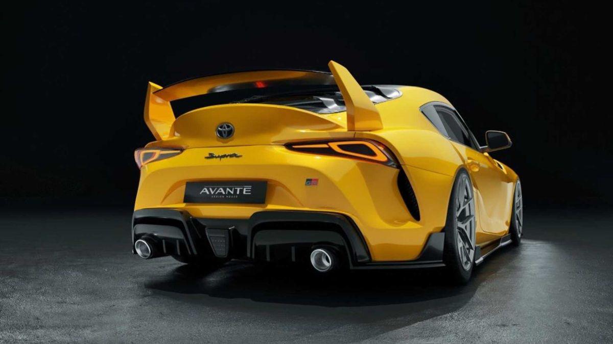 Toyota GR Supra tuning