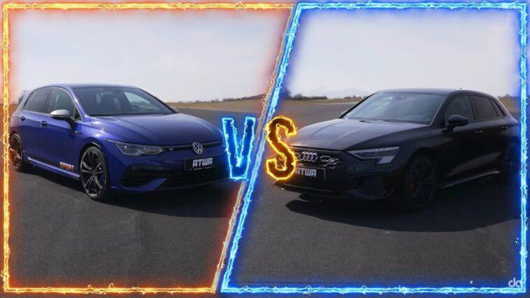 Volkswagen Golf R vs Audi S3