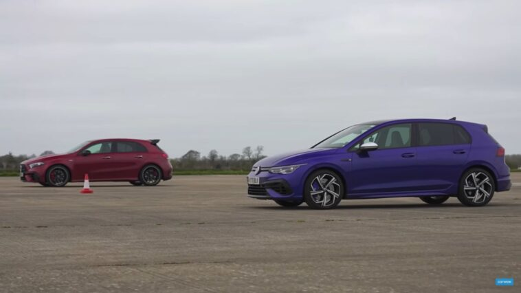 VW Golf RS vs Mercedes AMG A45S