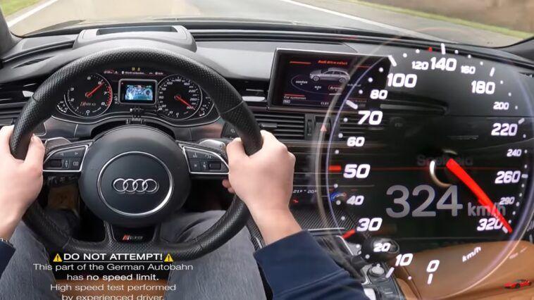 Audi RS6 C7 700 HP acceleration