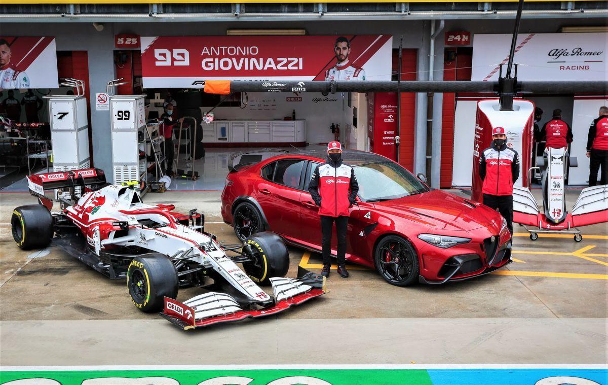 Alfa Romeo Racing Orlen Giulia GTAm