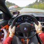 BMW M3 G80 acceleration