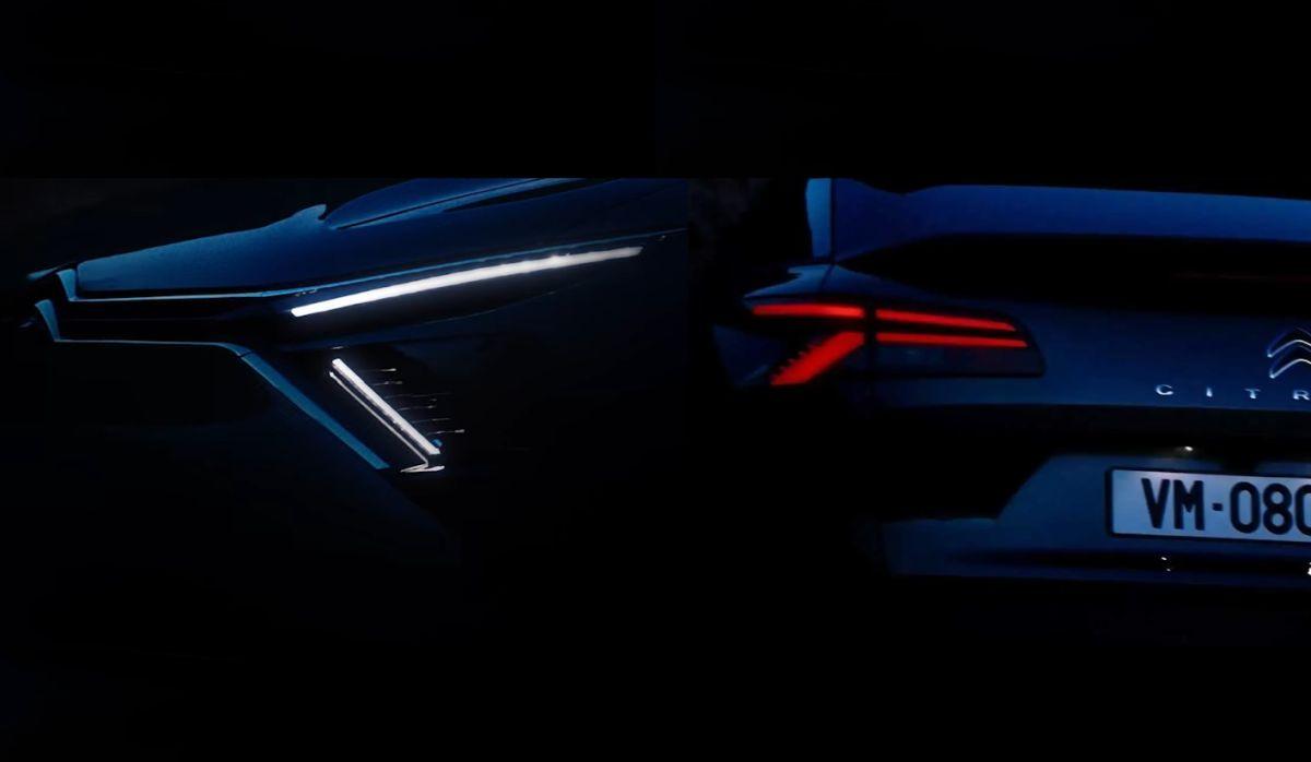 New Citroen C5 teaser