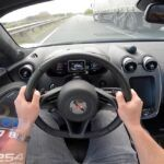McLaren 570GT acceleration autobahn
