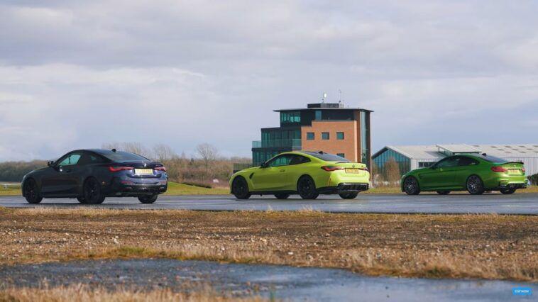 BMW M4 vs BMW M440i vs BMW M4 F82