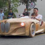 BMW z drewna