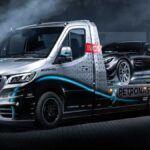 Mercedes Sprinter Petronas autotransporter