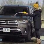 Mycie samochodu paliwem