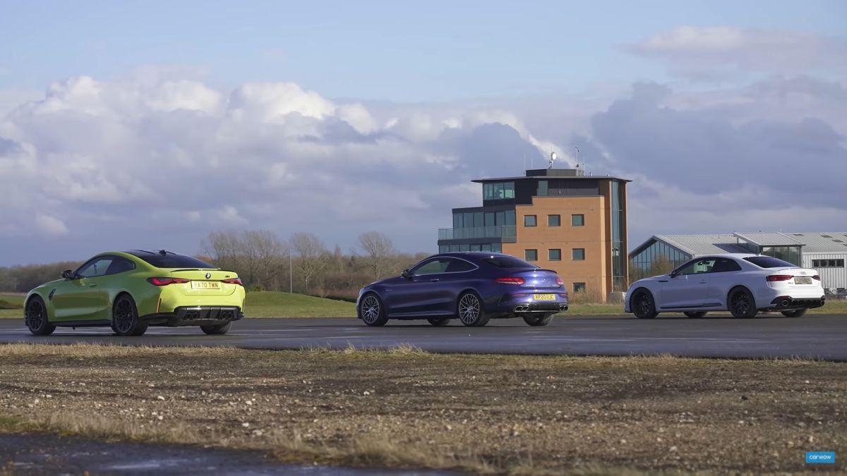 Audi RS5 vs BMW M4 Competition vs Mercedes-AMG C 63 S