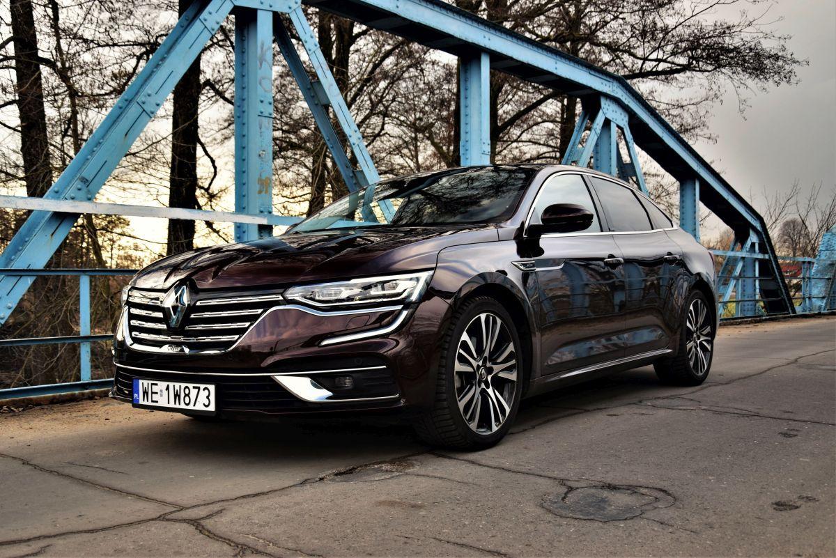 Renault Talisman Blue dCi test 2021