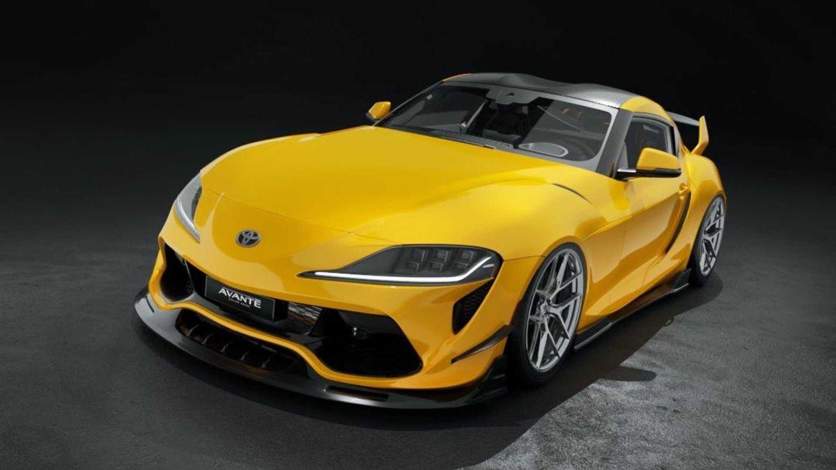 Toyota GR Supra Avante Design