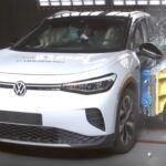 Volkswagen ID.4 test zderzeniowy