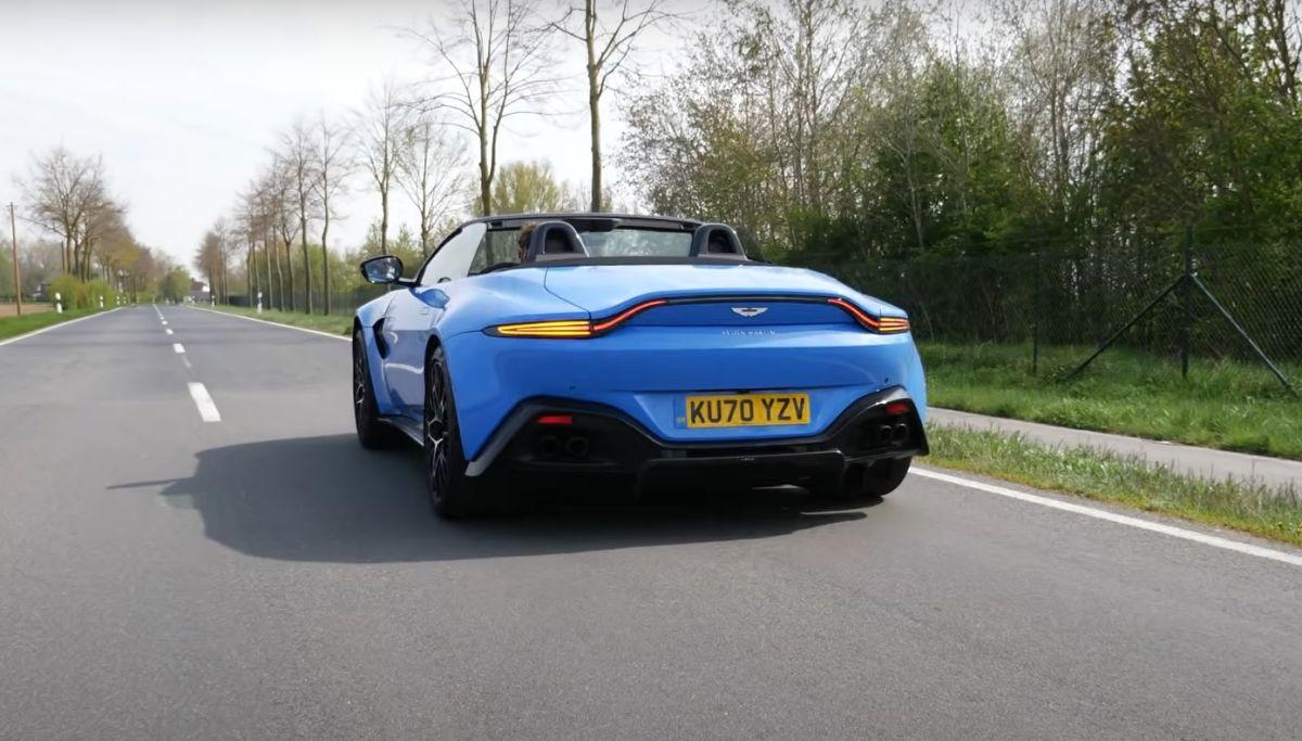 Aston Martin Vantage 2021 acceleration
