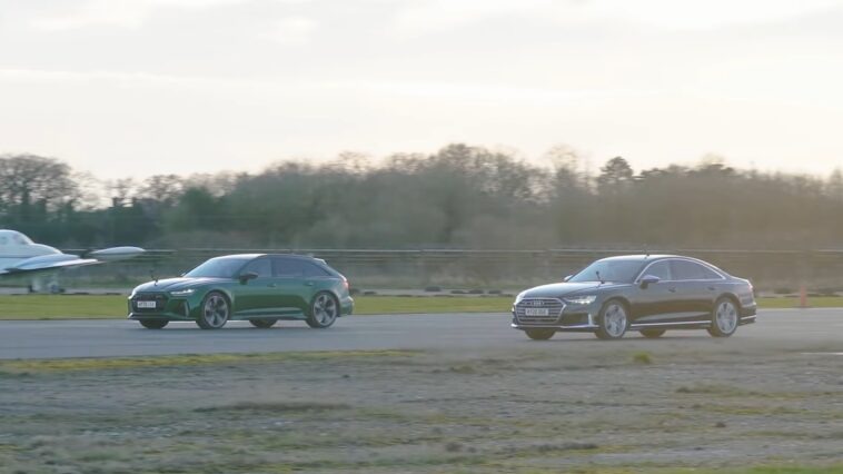 Audi RS6 vs Audi S8
