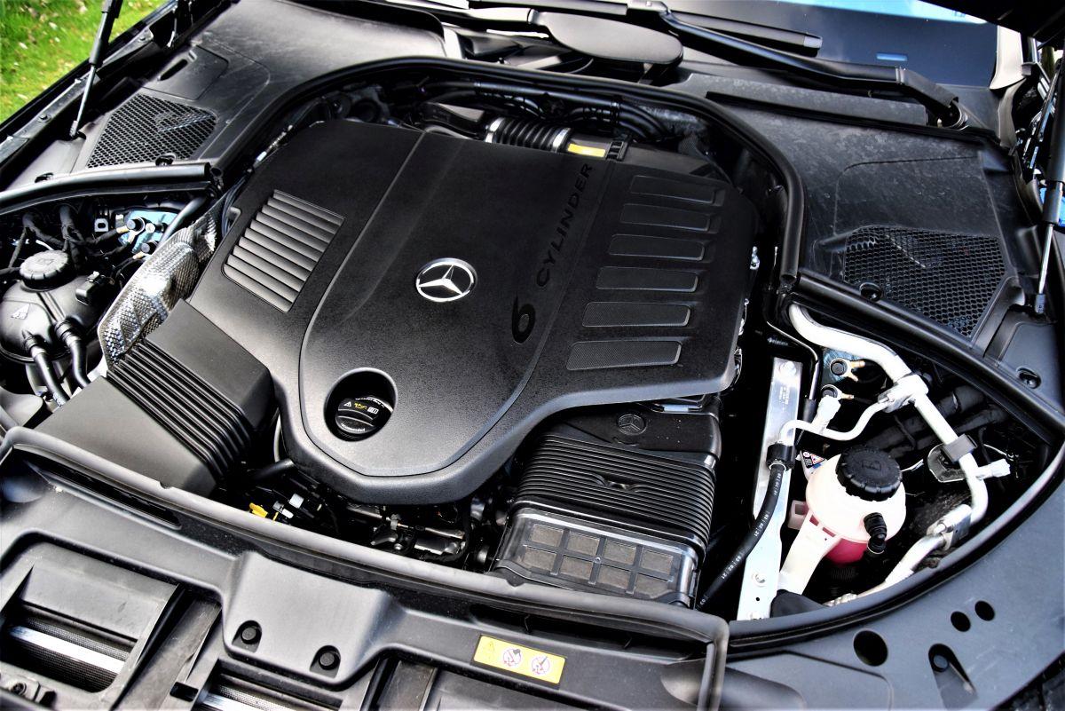 Mercedes-Benz S 500 4MATIC dane techniczne