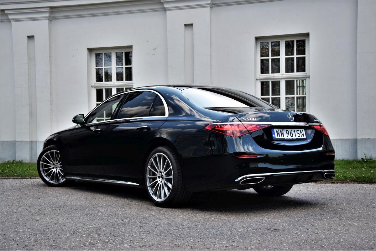 Mercedes-Benz S 500 4MATIC L opinie