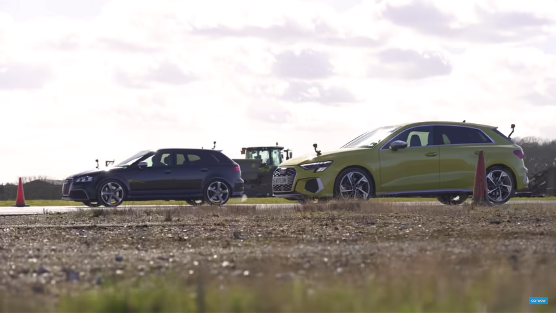 Audi S3 vs Audi RS3