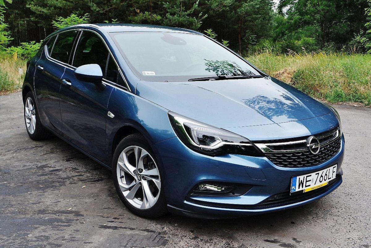 Opel Astra za50 tysięcy