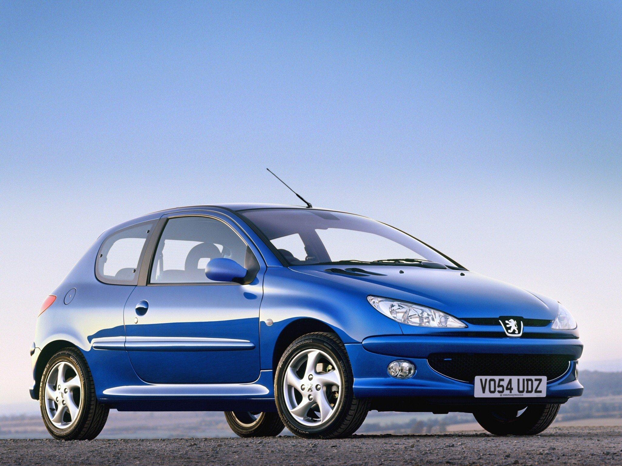 Peugeot 206 za 5 tysięcy złotych
