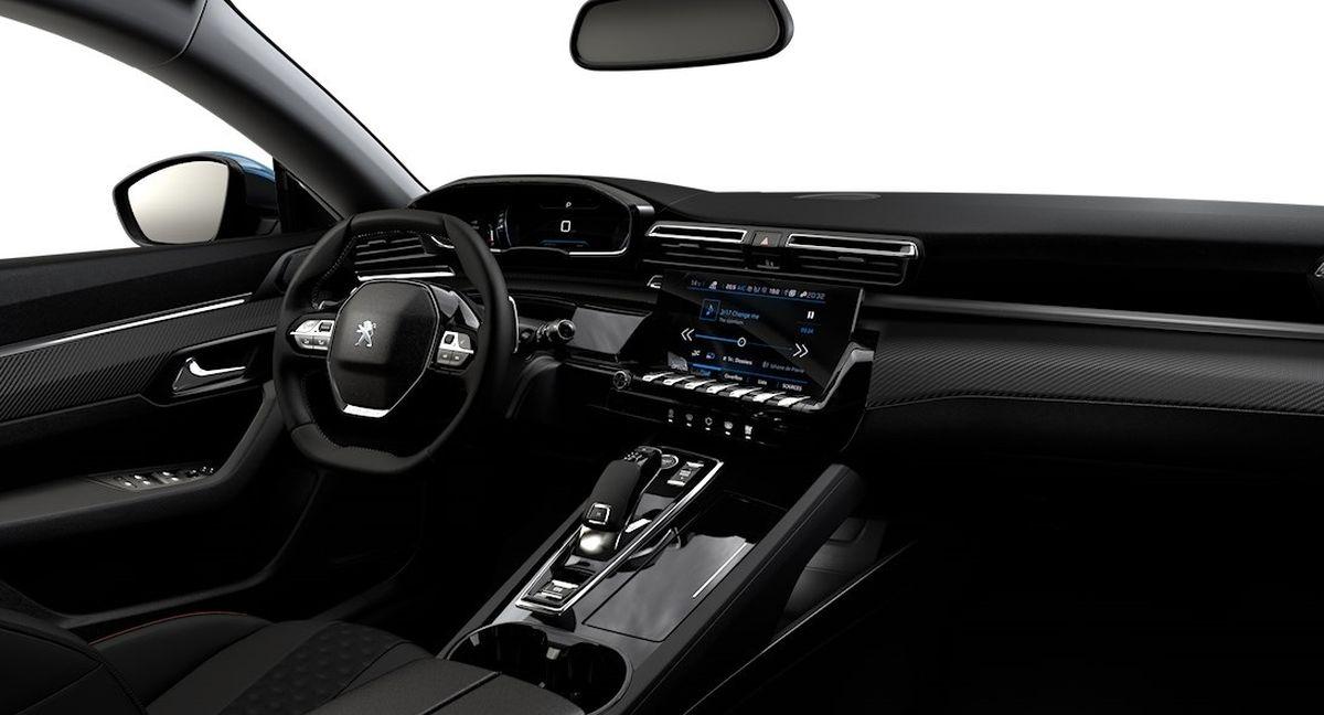 Peugeot 508 Active wnętrze
