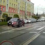 Ucieczka kierowcy Seicento po potrąceniu
